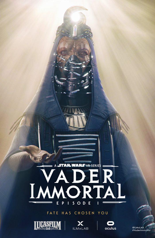Vader Immortal priestess character poster