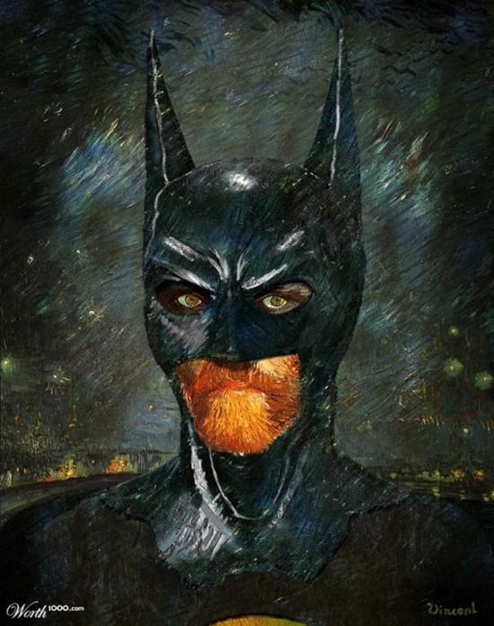 Van Gogh Batman