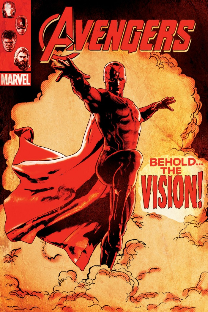 Vision Avengers cover image