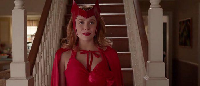 WandaVision - Elizabeth Olsen comic costume