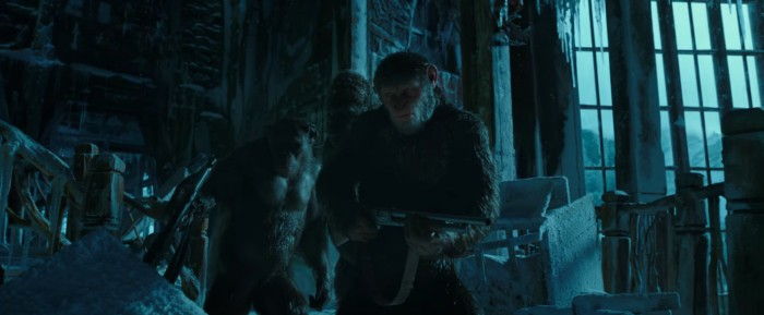 War for the Planet of the Apes ceasar guns