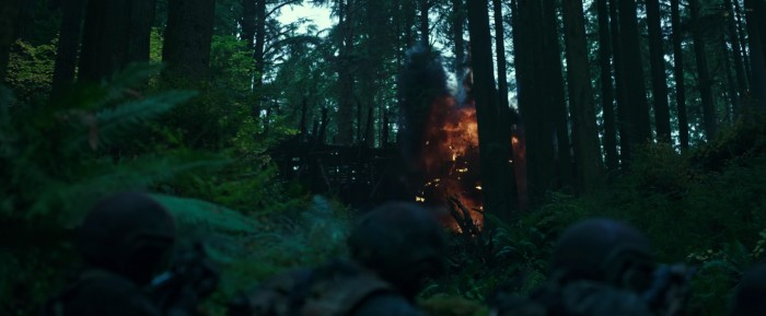 War for the Planet of the Apes human jungle
