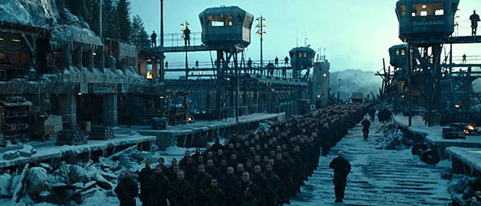 War for the Planet of the Apes prison