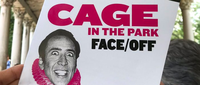 Water Cooler: Cage in the Park, Half Dome, Crawl, The Farewell, Being Funny, A Matter of Life and Death