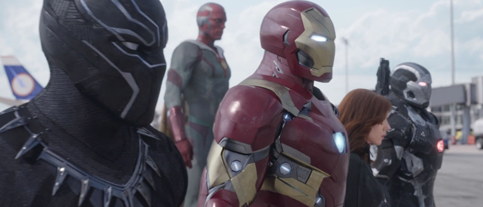 Avengers Iron Man Infinity War Armor Revealed