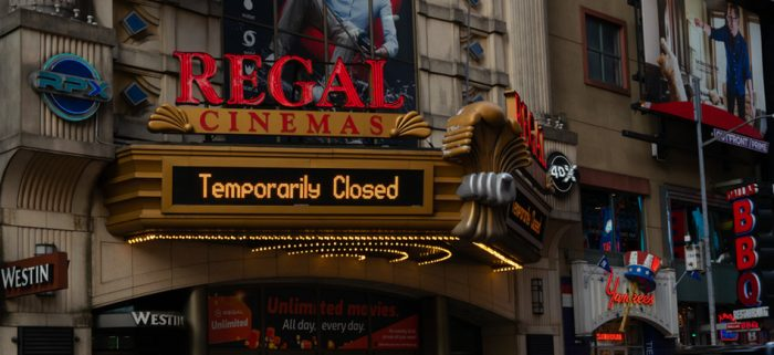 Cineworld, Owner of Regal Cinemas, May Close All Theaters in United States and United Kingdom This Week