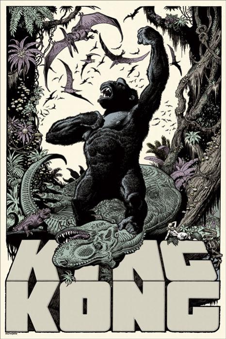 William Stout - King Kong