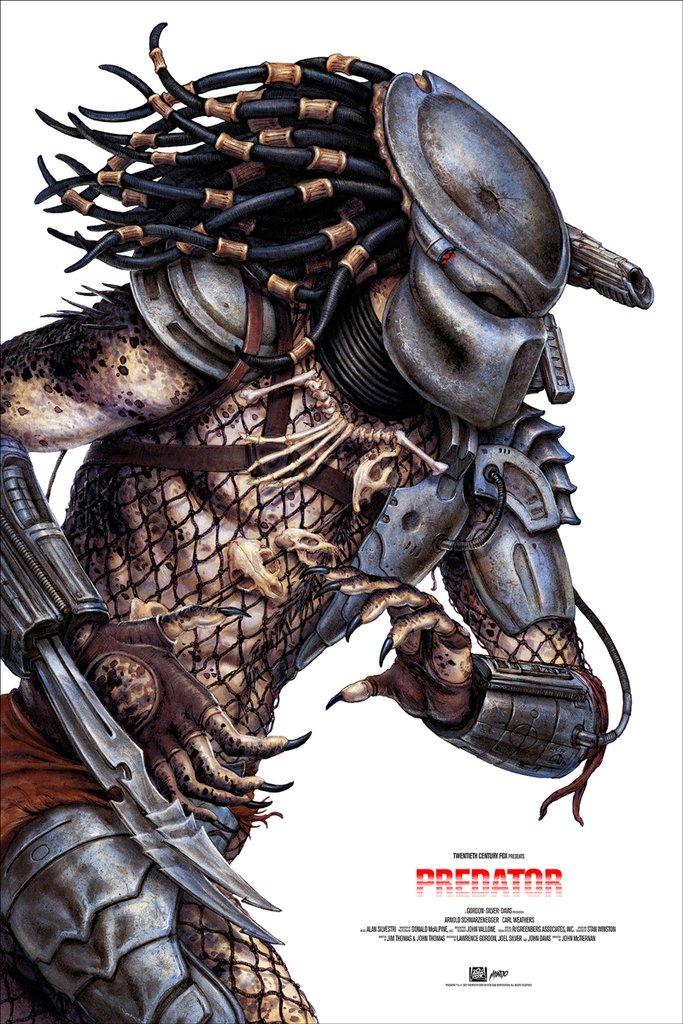 Mondo Predator Poster