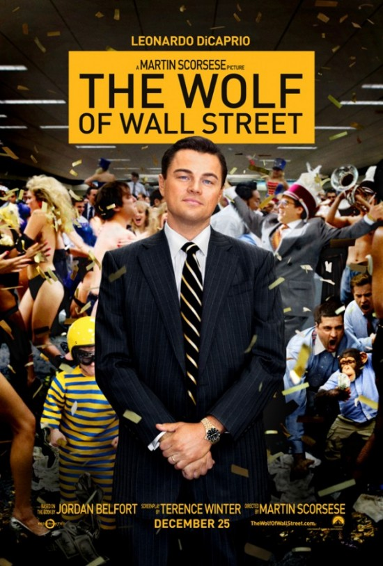 Wolf of Wall Street poster 2