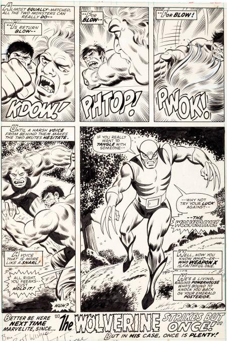 Wolverine First art
