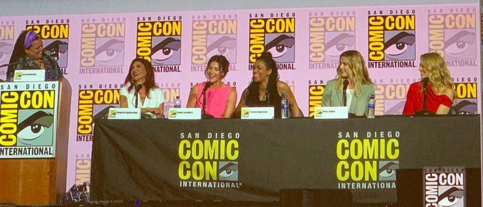 Women Who Kick Ass panel SDCC2019