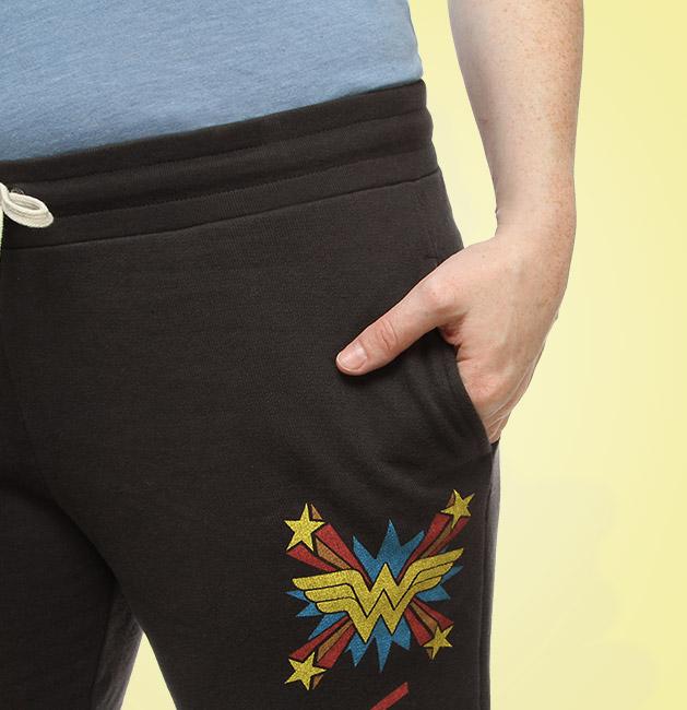 Wonder Woman sweatpants