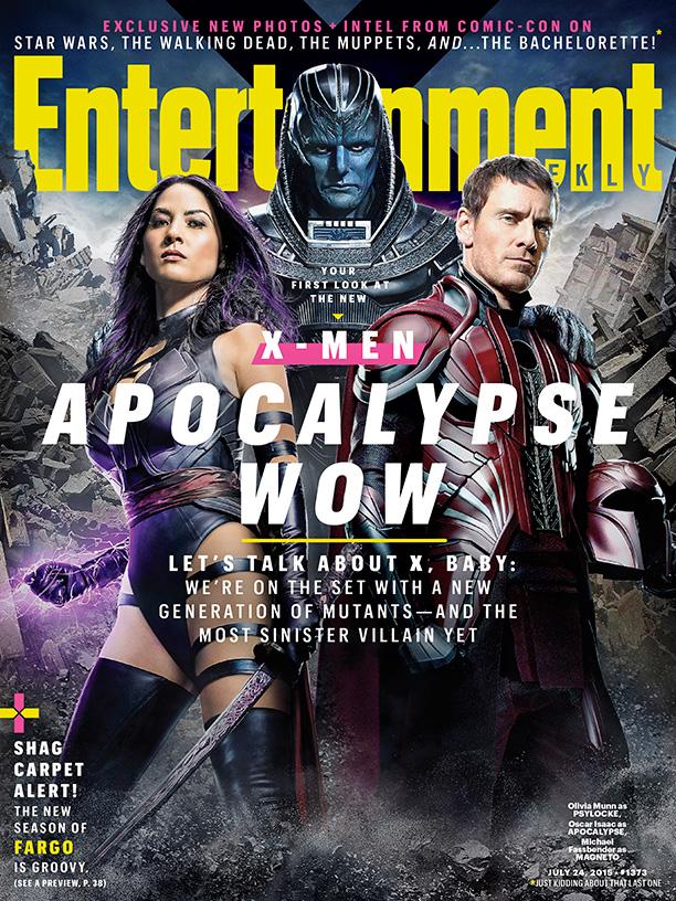 X-Men Apocalypse EW Cover