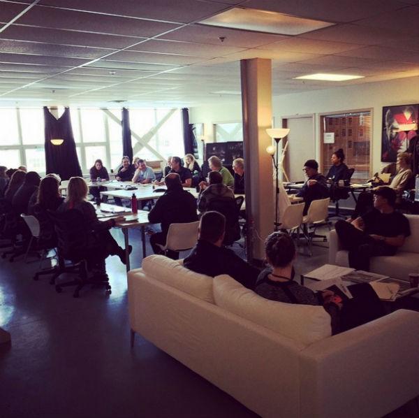 X-Men Apocalypse production office