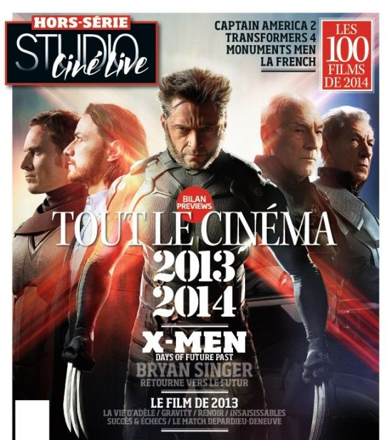 X-Men DOFP French Mag