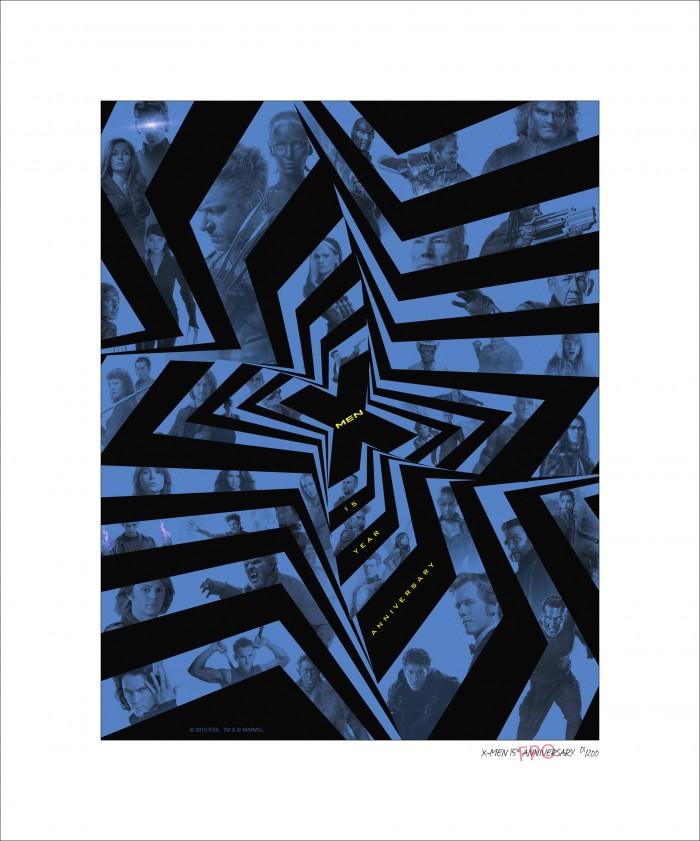X-Men Rogue Cut Lithograph