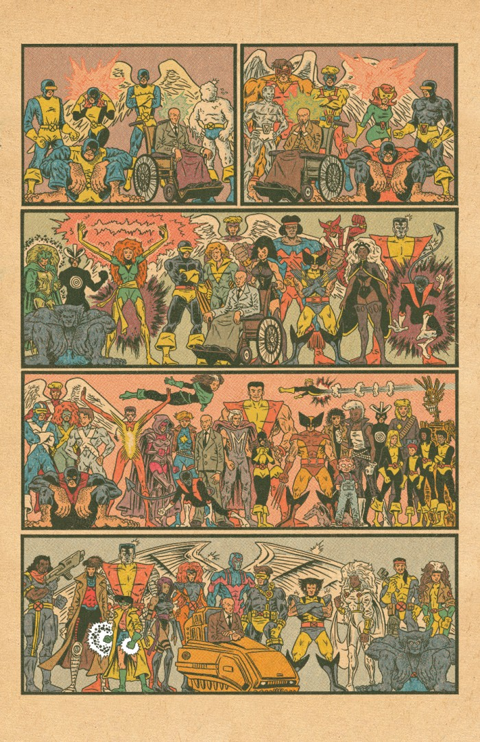 X-Men by decade