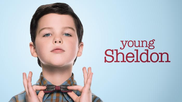 Young Sheldon banner