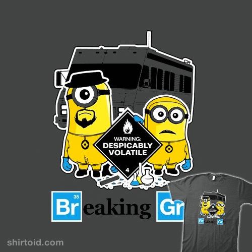 Breaking Gru t-shirt