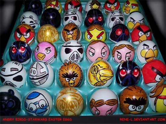 Star Wars Angry Birds Easter Eggs