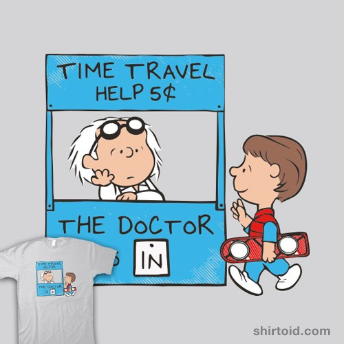 The Doc Is In t-shirt