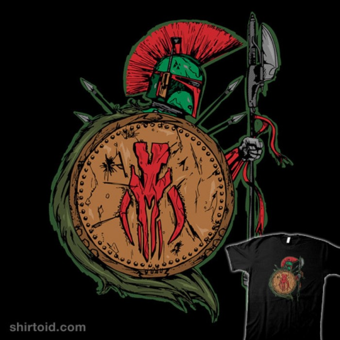 Boba Fett Spartan t-shirt