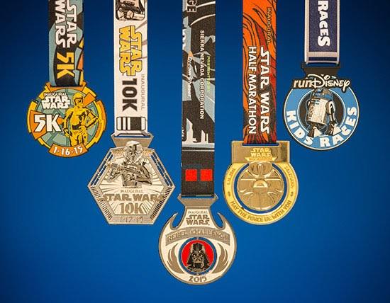 Star Wars Half Marathon Weekend presented by Sierra Nevada Corporation Finisher Medals Revealed