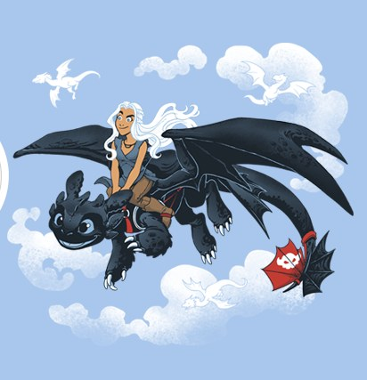 How to Train Your Dragon/Game of Thrones