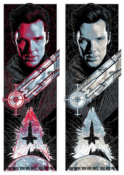 Rhys Cooper Star Trek Into Darkness posters