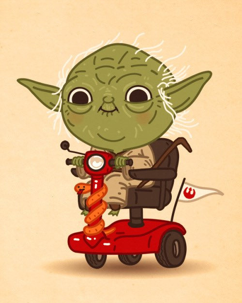 Mike Mitchell's May The Fourth Yoda print