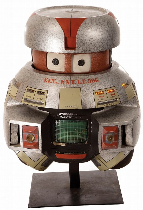 V.I.N.CENT robot prop from 1979's Black Hole