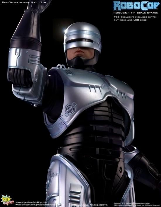 Robocop 1:4 Scale Statue