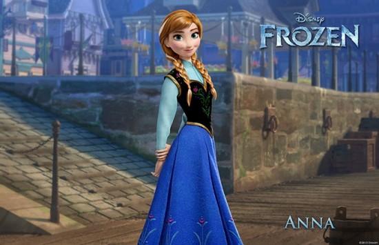 Frozen - Anna (Kristen Bell)