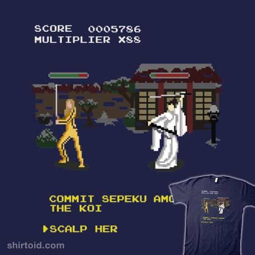 Kill Bill Arcade Game: Boss Battle