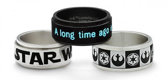 Star Wars Stainless Steel Rings