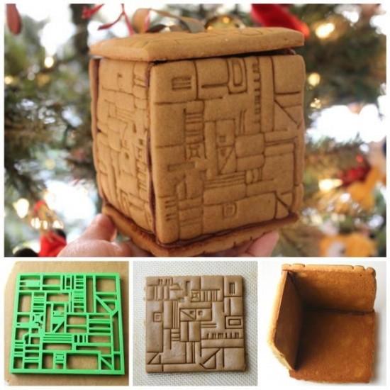 Gingerbread Borg Cube