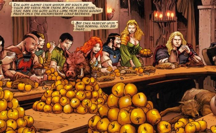 golden apples of iDunn