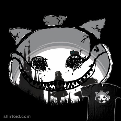 The Mad Cheshire t-shirt