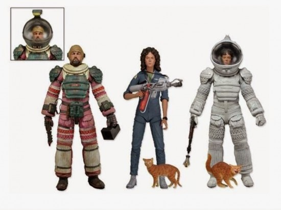 NECA's Ripley and Dallas action figures