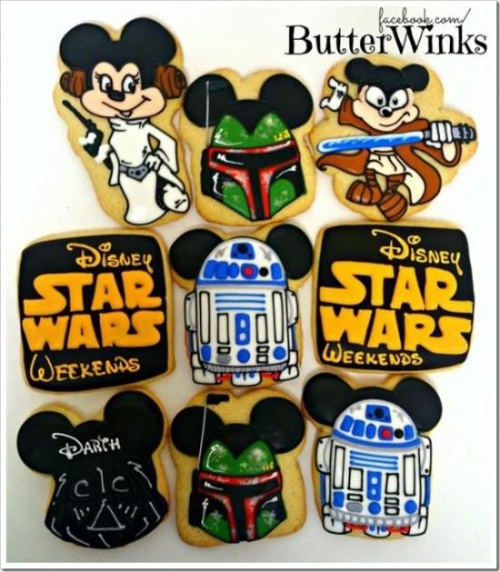 Disney Star Wars Weekends Cookies