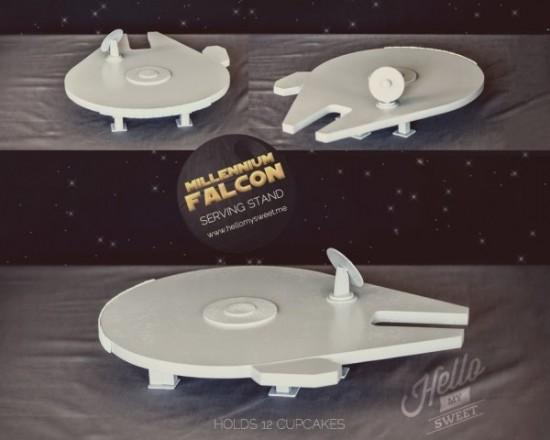 Millennium Falcon Cake Stand