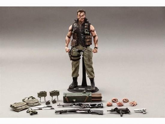 Hot Toys John Matrix/Commando action figure