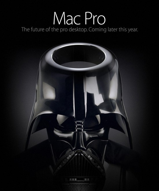 Darth Pro, Powerful Mashup of Darth Vader & Apple's Upcoming Mac Pro Desktop Computer