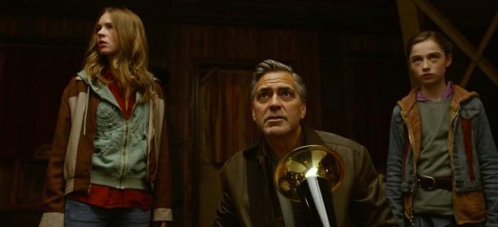 Tomorrowland Britt Robertson George Clooney
