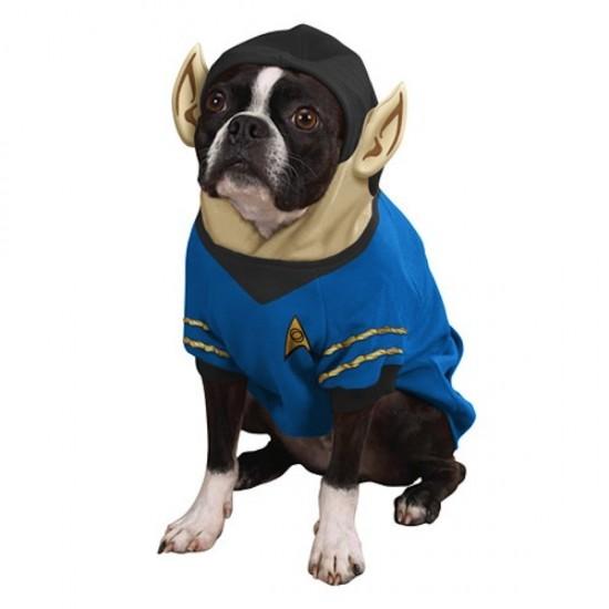 Star Trek The Original Series Spock Dog Hoodie