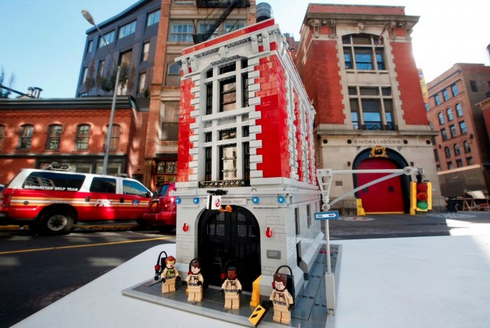 Ghostbusters Firehouse LEGO Set