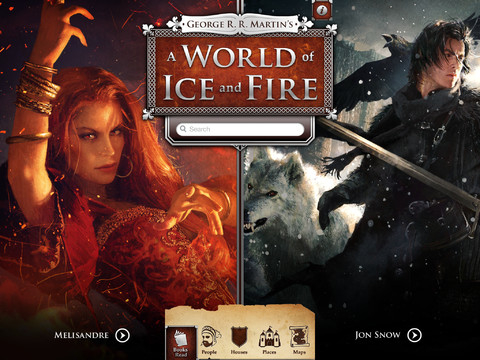 Game Of Thrones' iOS Companion App