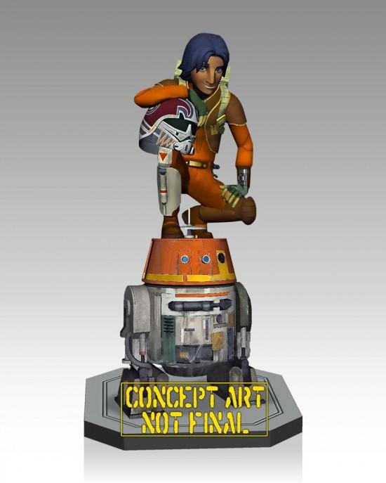 'Star Wars Rebels' Maquette