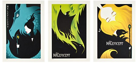Eric Tan's Maleficent limited edition Lithograph Set