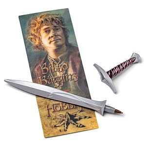 The Hobbit Pen and Lenticular Bookmark Sets